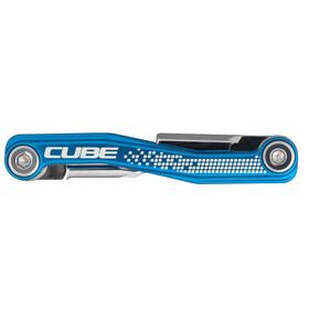 Cube Cubetool 7 in 1 Miniwerkzeug blue chrom